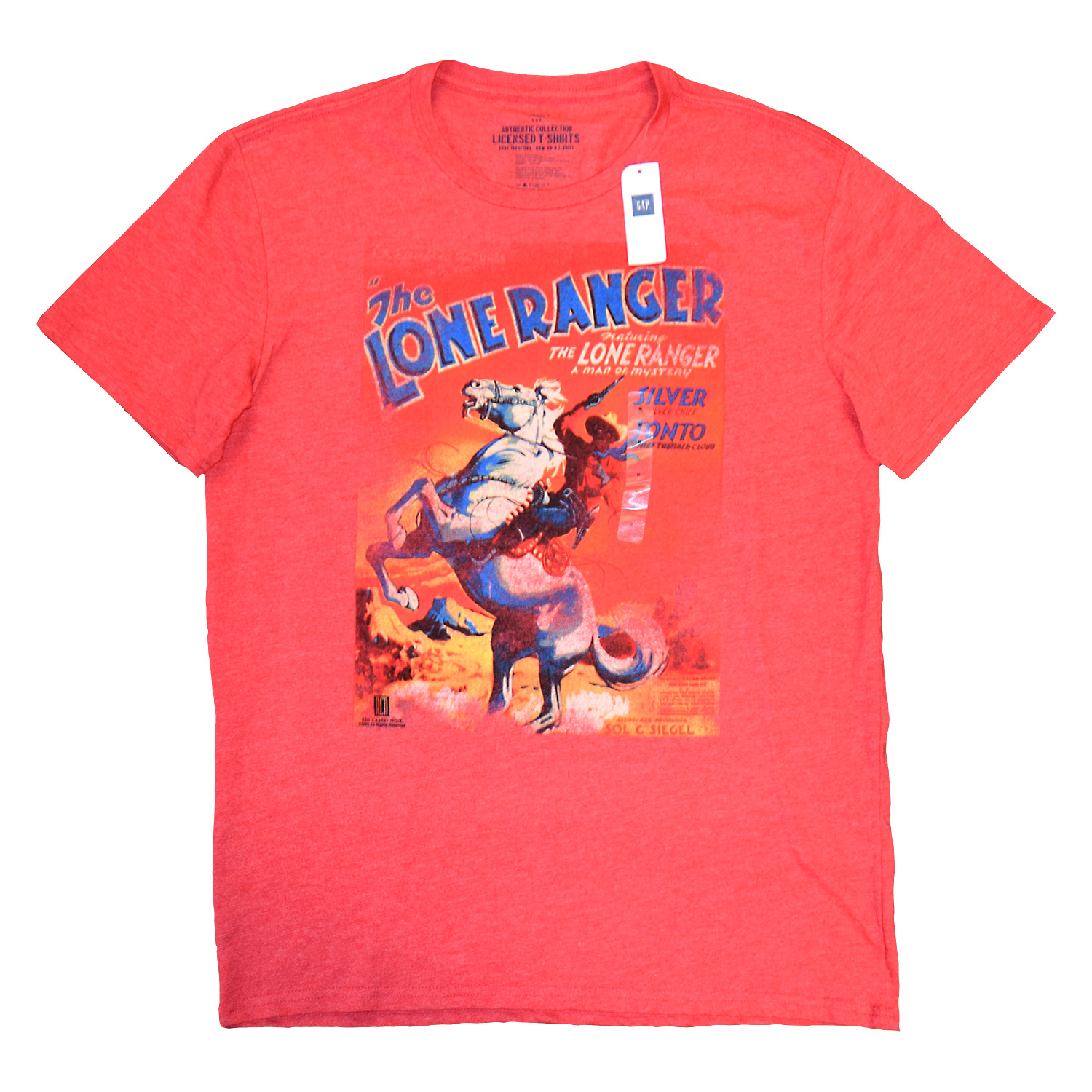 Gap Officially Licensed Lone Ranger Graphic Tees - 72pcs